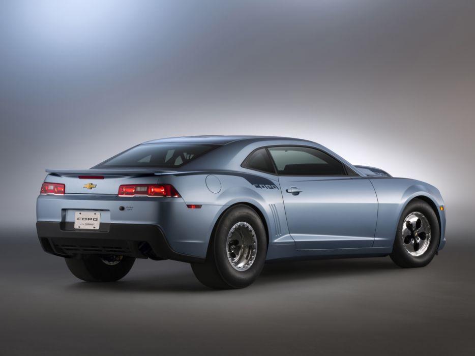2014 Chevrolet COPO Camaro muscle drag race racing hot rod rods   h wallpaper