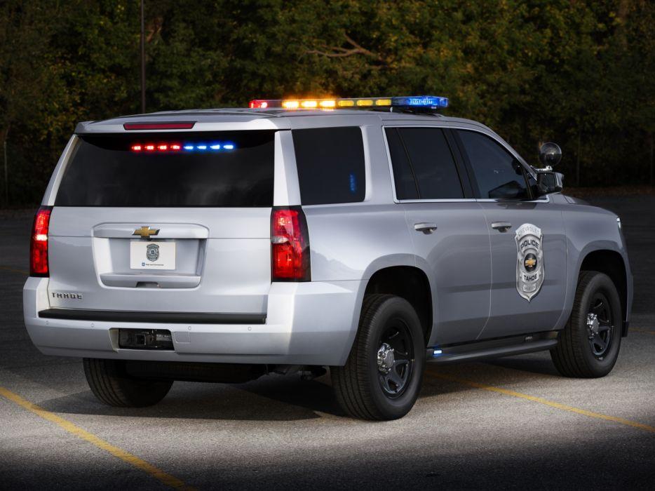2014 Chevrolet Tahoe Police Concept emergency suv 4x4   f wallpaper