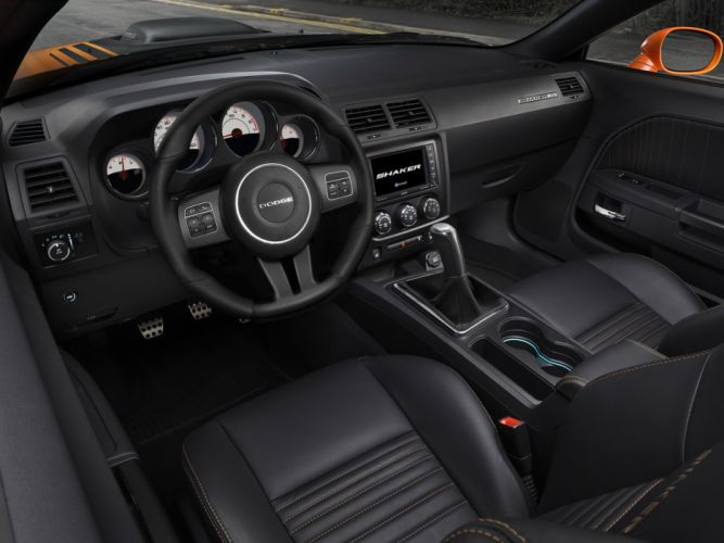 2014 Dodge Challenger R-T Shaker muscle interior gg wallpaper