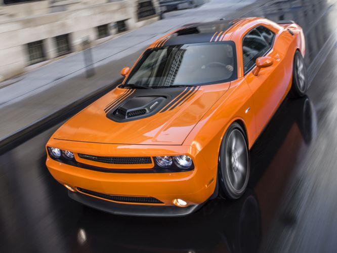 2014 Dodge Challenger R-T Shaker muscle d wallpaper