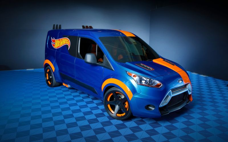 2014 Ford Transit Connect Hot Wheels suv tuning v wallpaper