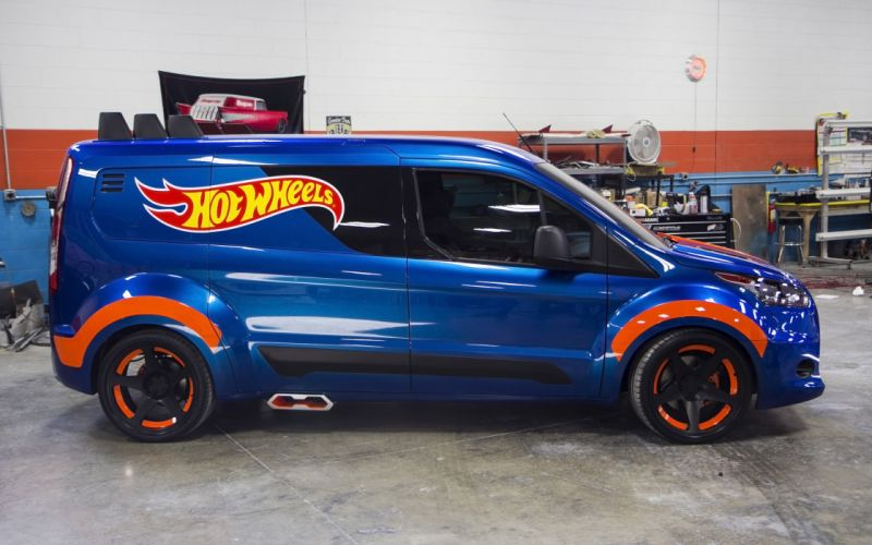 2014 Ford Transit Connect Hot Wheels suv tuning h wallpaper