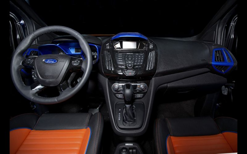 2014 Ford Transit Connect Hot Wheels suv tuning interior h wallpaper