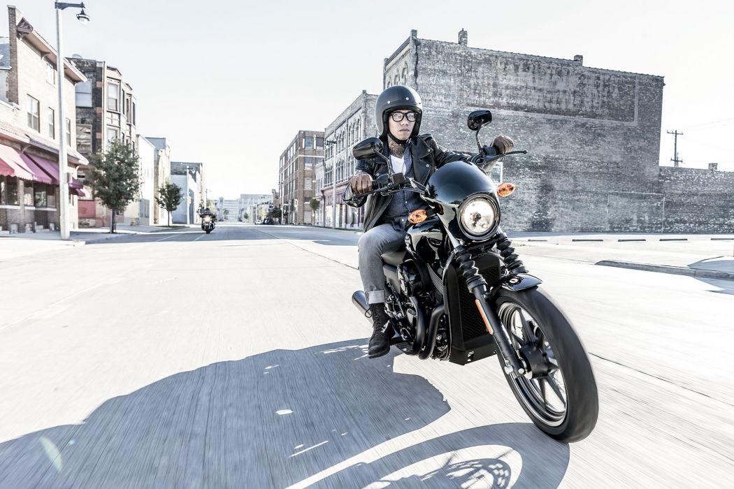 2014 Harley Davidson Street 750 wallpaper