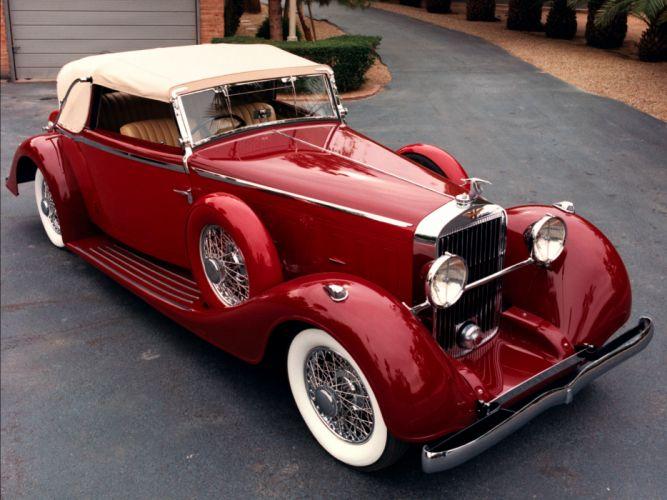 Hispano Suiza K6 retro luxury convertible k-6 g wallpaper