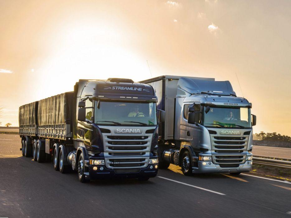 Scania R-Series seni tractor      g wallpaper