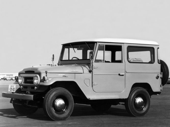 Toyota Land Cruiser (FJ40V) suv 4x4 f wallpaper