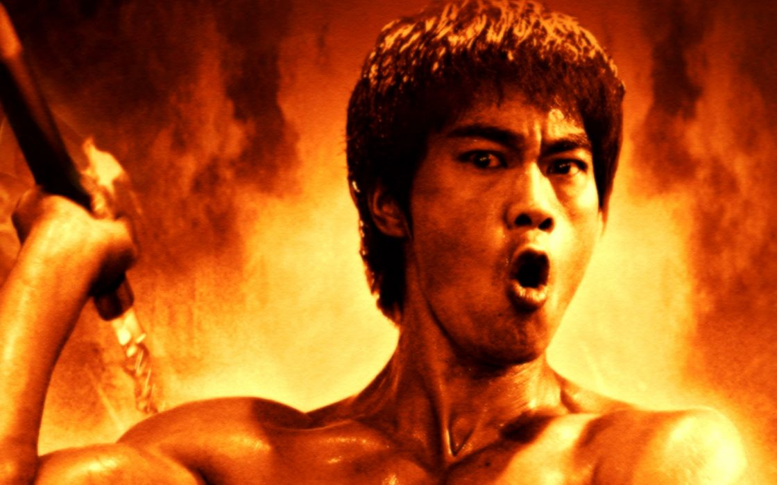 Bruce Lee the Man and the Legend martial arts       f wallpaper