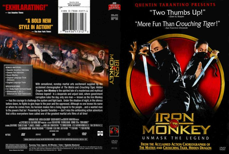 IRON MONKEY martial arts action poster f wallpaper