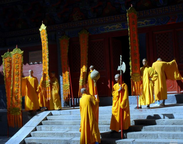 THE SHAOLIN TEMPLE martial arts action f wallpaper