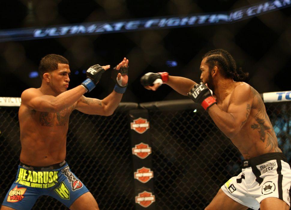UFC mma martial arts battle dw wallpaper