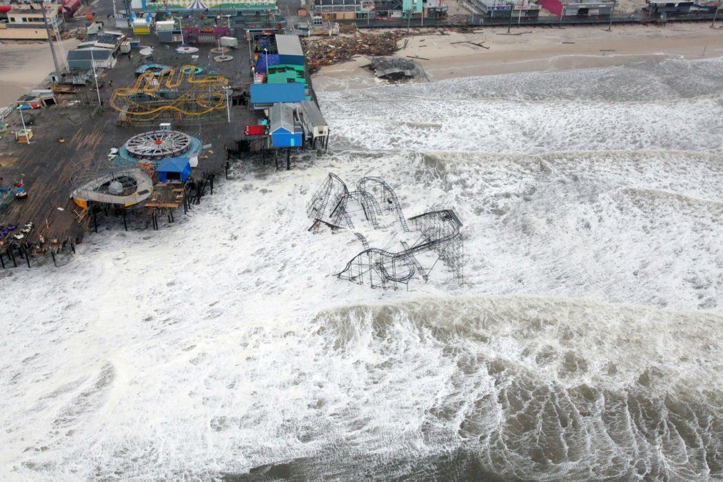 HURRICANE SANDY storm disaster weather destruction        g wallpaper