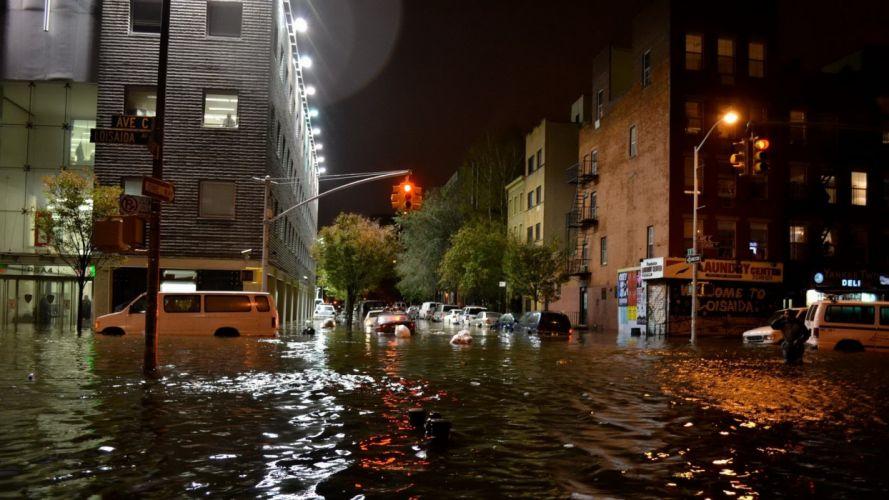 HURRICANE SANDY storm disaster weather destruction city building h wallpaper