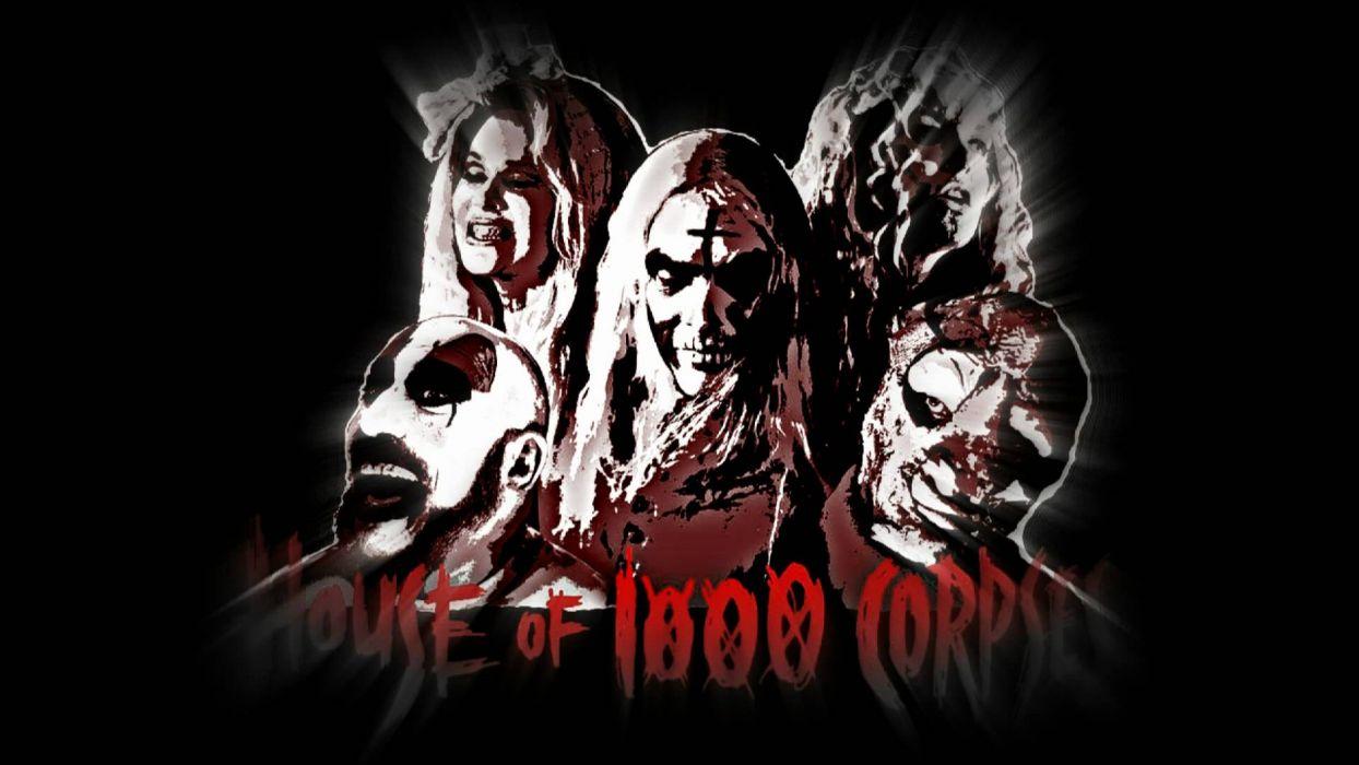 House Of 1000 Corpses Dark Horror Tw Wallpaper 1920x1080