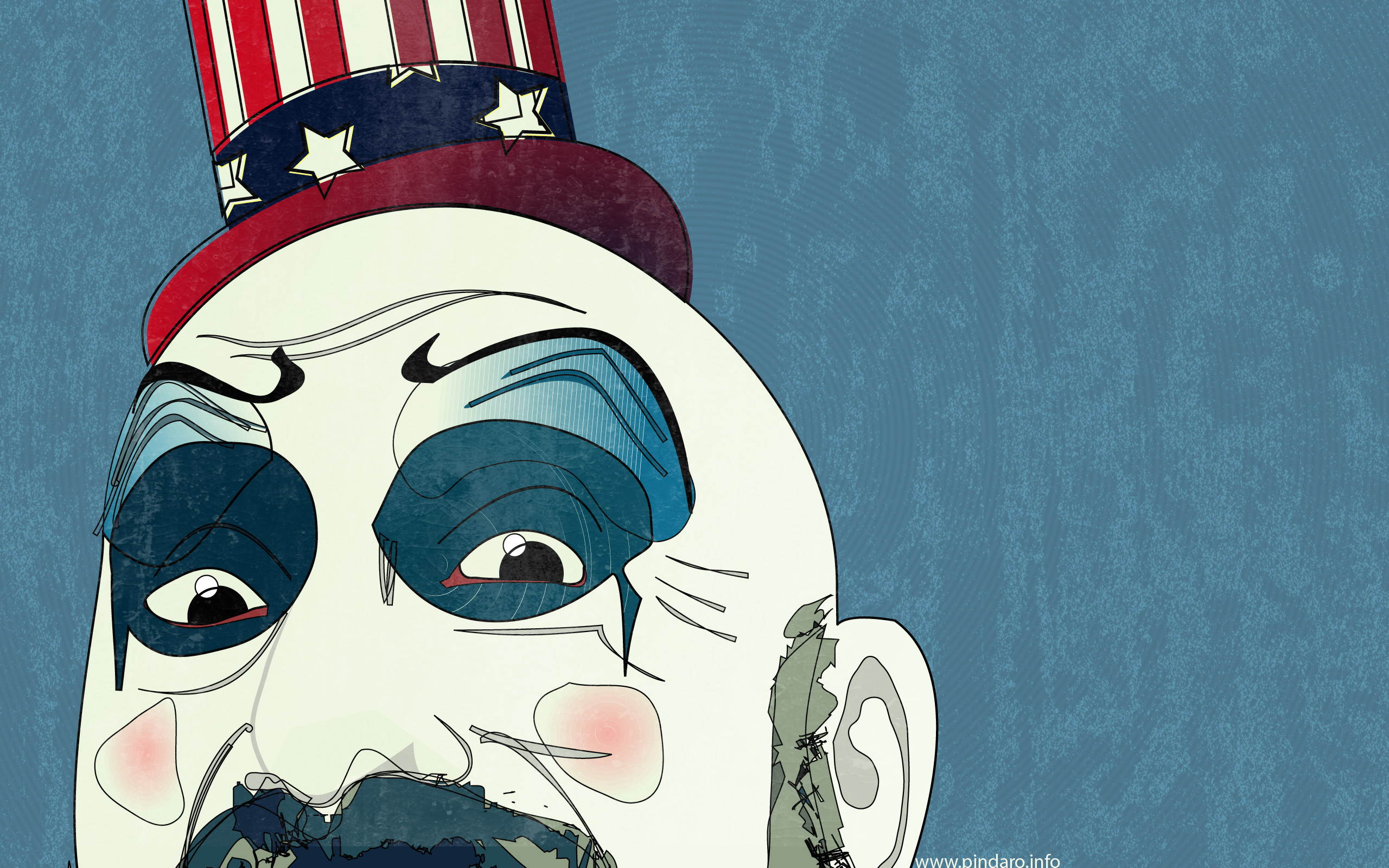 House Of 1000 Corpses Dark Horror Clown Y Wallpaper 2560x1600