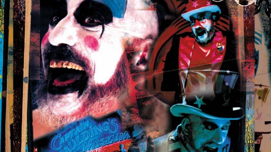 HOUSE OF 1000 CORPSES dark horror clown ru wallpaper