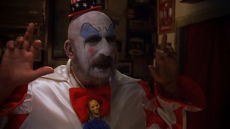 HOUSE OF 1000 CORPSES dark horror clown w wallpaper