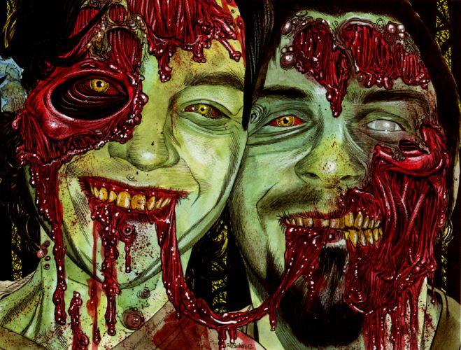 ROB ZOMBIE ART dark horror monster r wallpaper