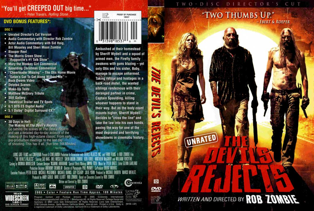 THE DEVILS REJECTS dark horror poster  r wallpaper