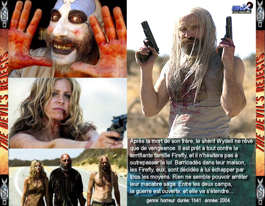THE DEVILS REJECTS dark horror poster french  r wallpaper