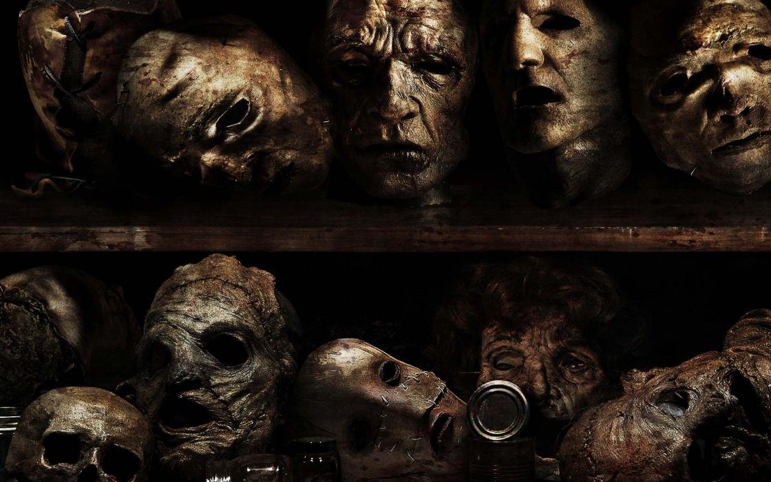 TEXAS CHAINSAW dark horror a wallpaper