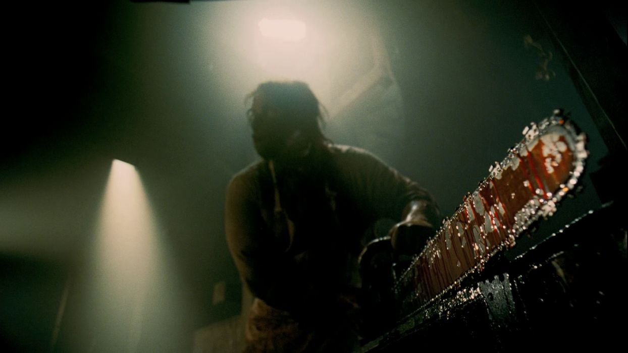 TEXAS CHAINSAW dark horror blood   d wallpaper