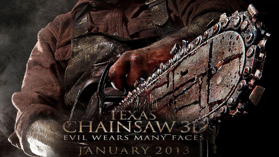 TEXAS CHAINSAW dark horror poster f wallpaper