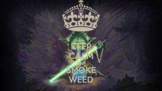 Marijuana Weed 420 Ganja Star Wars G Wallpaper