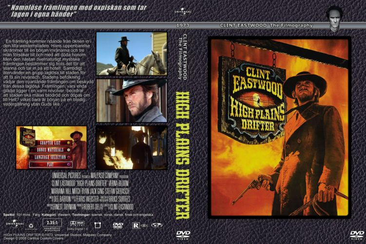 HIGH PLAINS DRIFTER western clint eastwood poster wallpaper