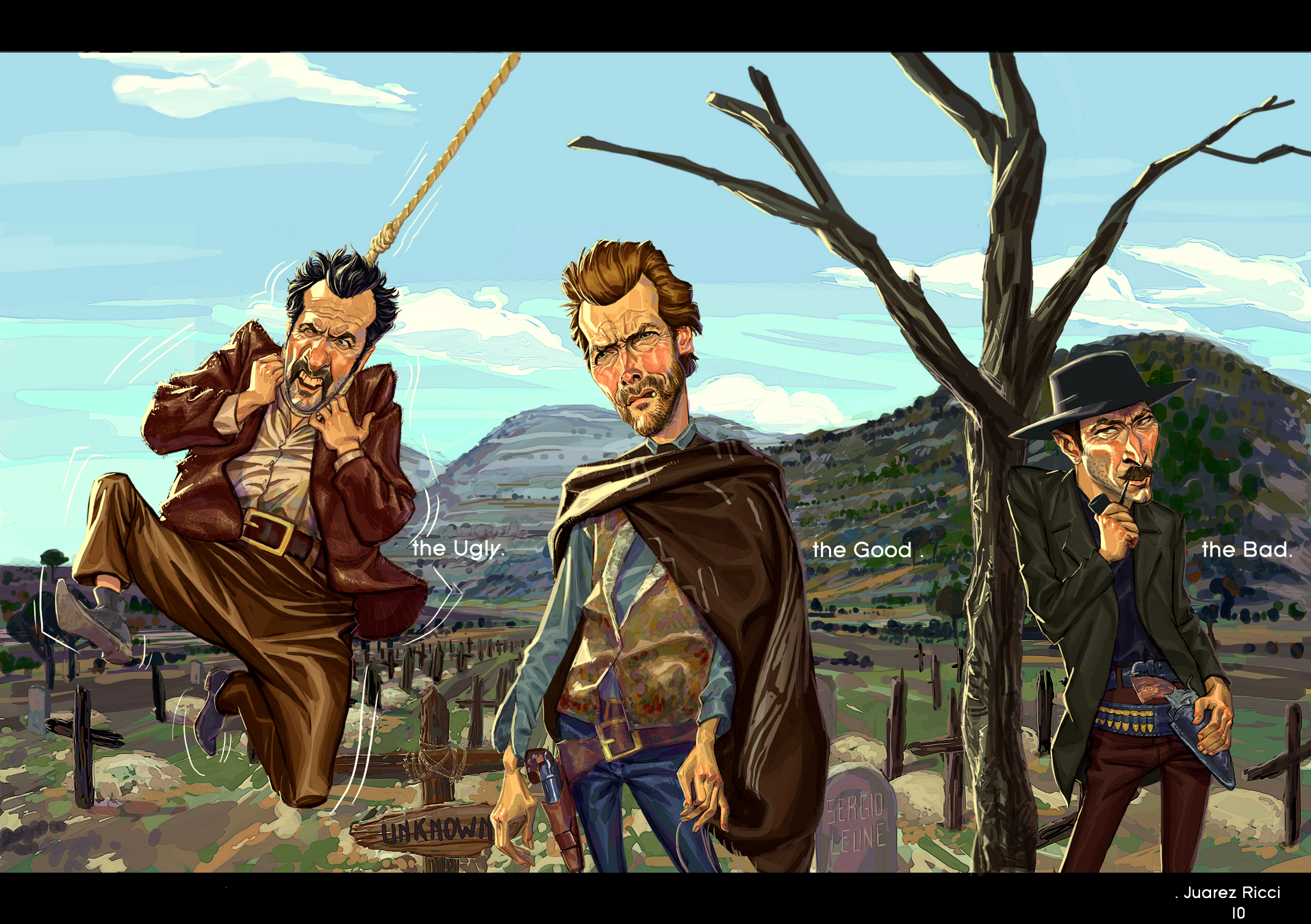 The Good The Bad And The Ugly Western Clint Eastwood R Wallpaper