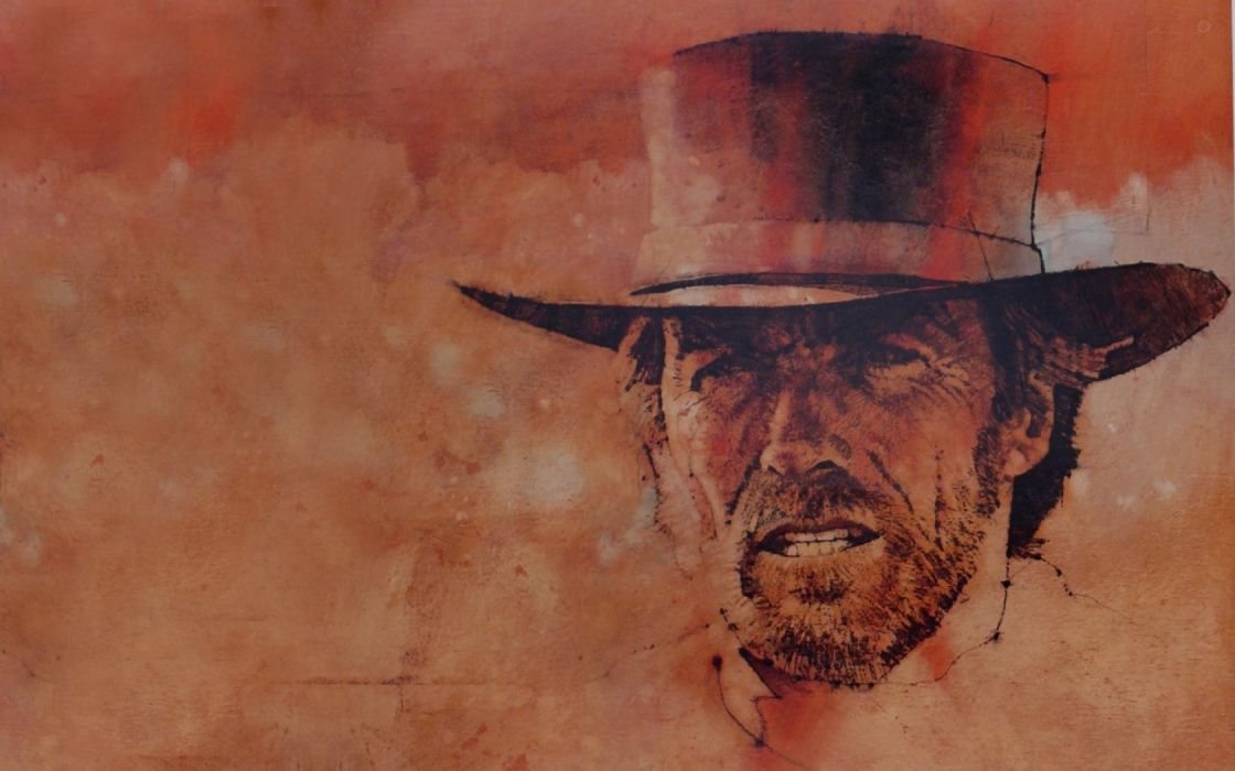 THE GOOD THE BAD AND THE UGLY western clint eastwood  f wallpaper