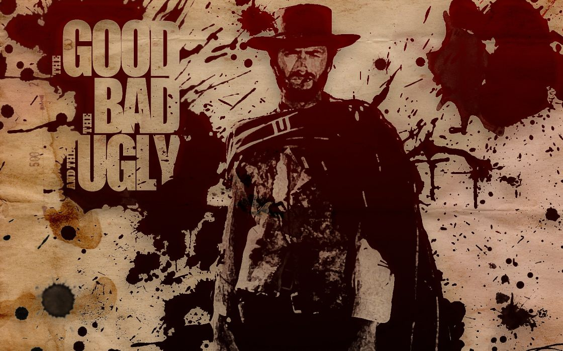 Clint Eastwood Cowboy Wallpaper: THE GOOD THE BAD AND THE UGLY Western Clint Eastwood