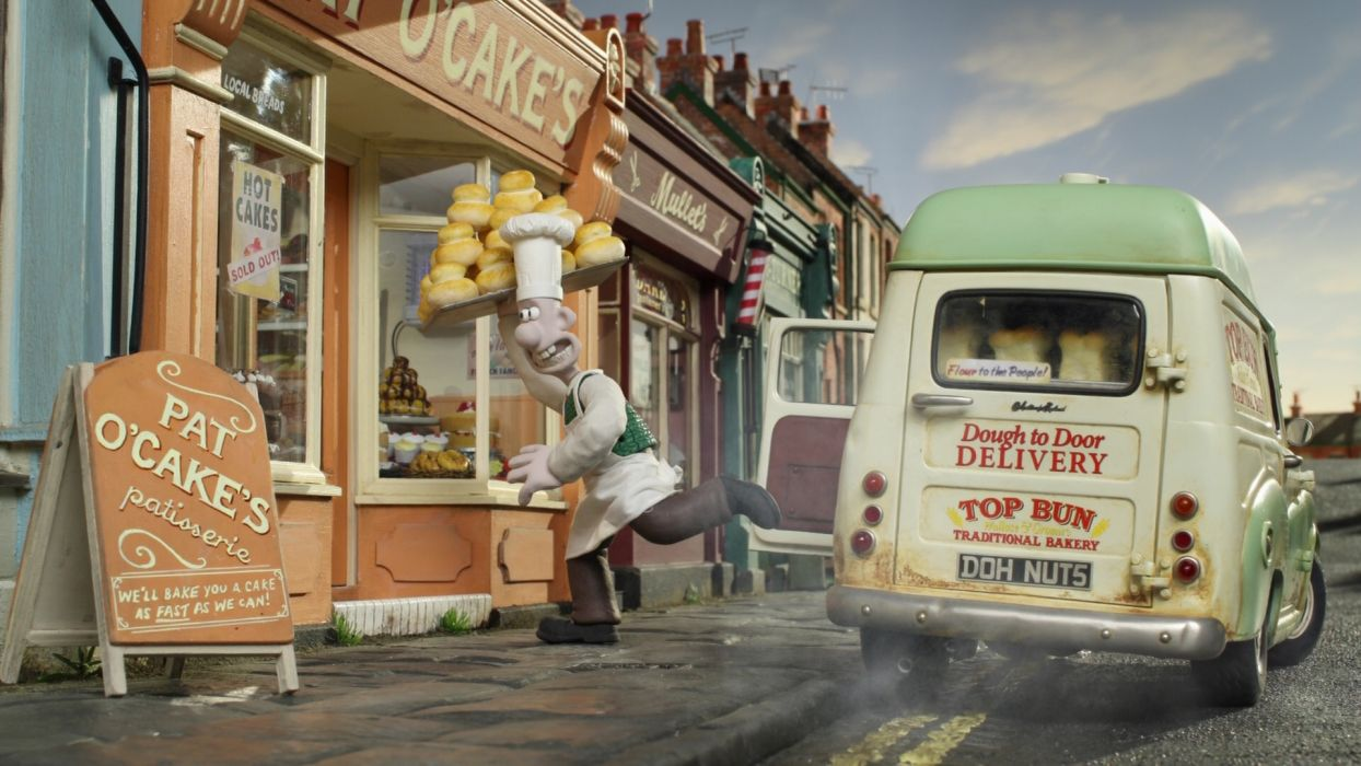 Wallace and Gromit A Matter of Loaf and Death movie  r wallpaper