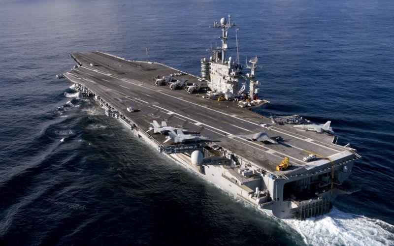 aircraft carrier uss harry s_ truman weapons wallpaper