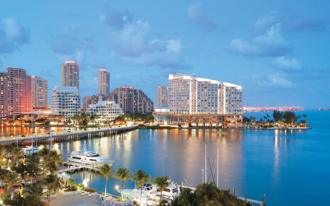 usa florida city Miami wallpaper