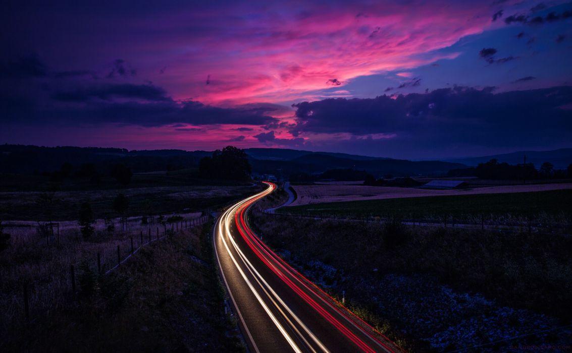 switzerland shutter speed road traffic wallpaper