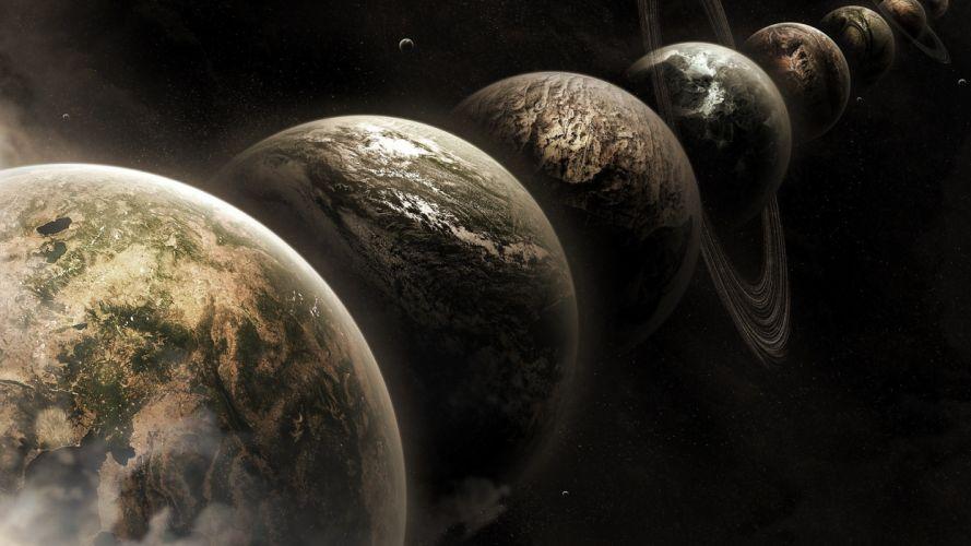 planet space wallpaper