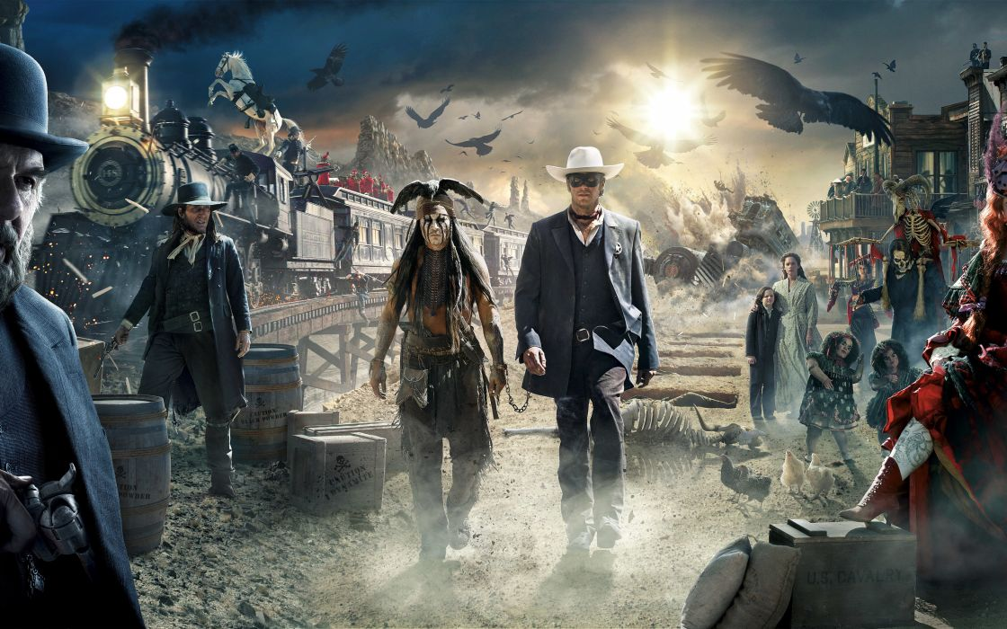 movie johnny depp the lone ranger film wallpaper