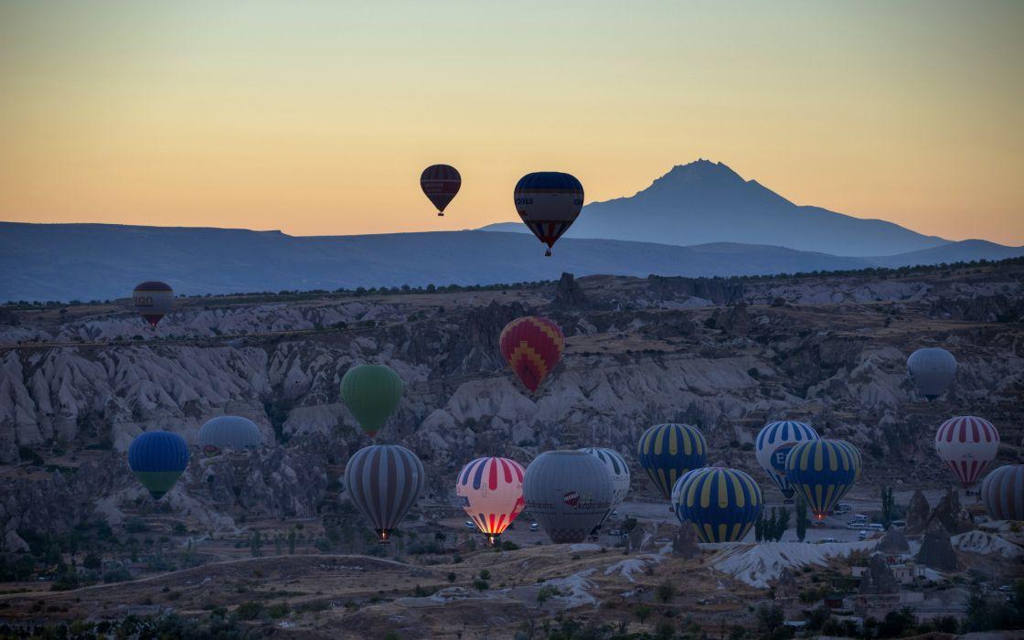 cappadocce balls sports balloon wallpaper