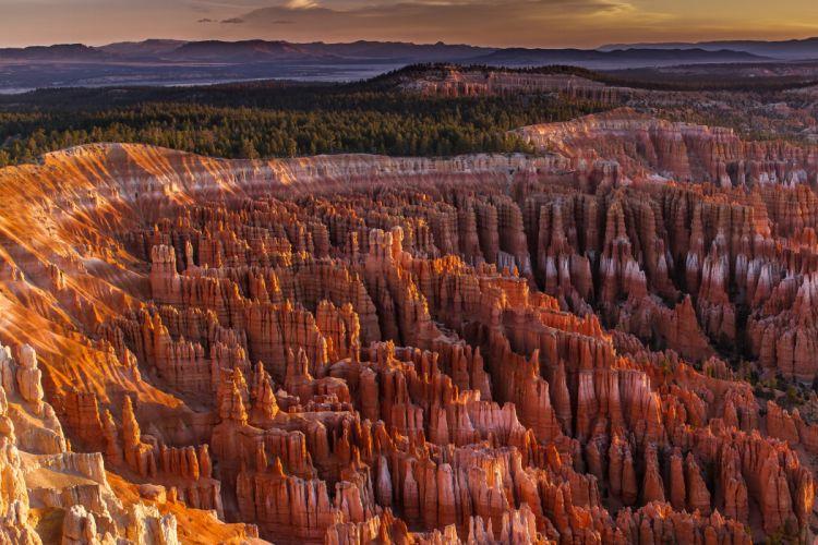 cliff canyon mountains sky wallpaper