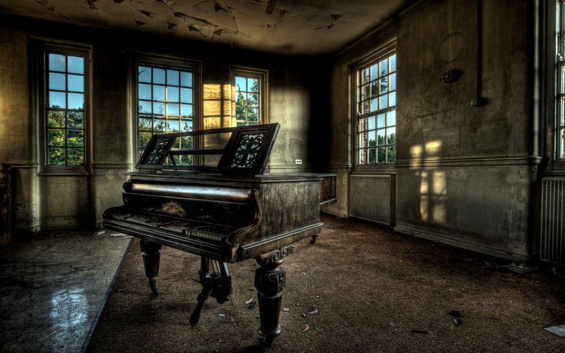 grand piano wallpaper