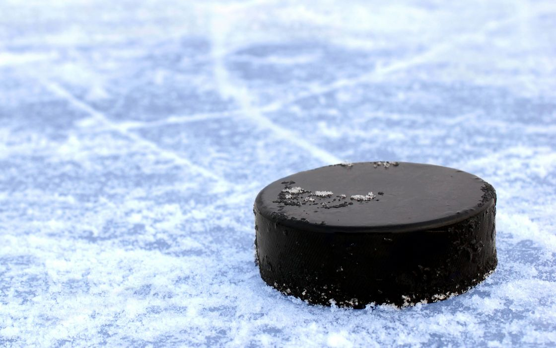 hockey puck black ice wallpaper