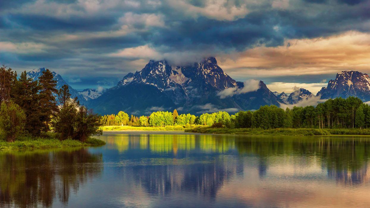 Wyoming USA National Park wallpaper