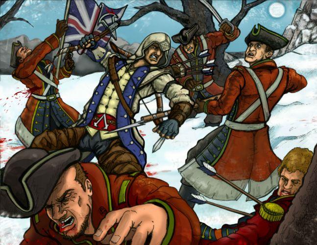 Assassins Creed Warriors Battles Soldiers Games wallpaper
