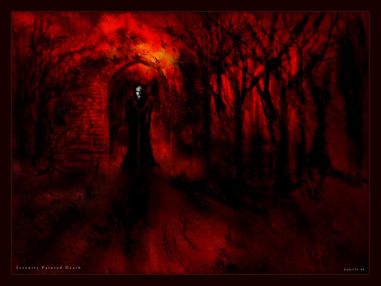 Cool Rooms For Girls Dark Horror Vampire Monster Halloween G Wallpaper