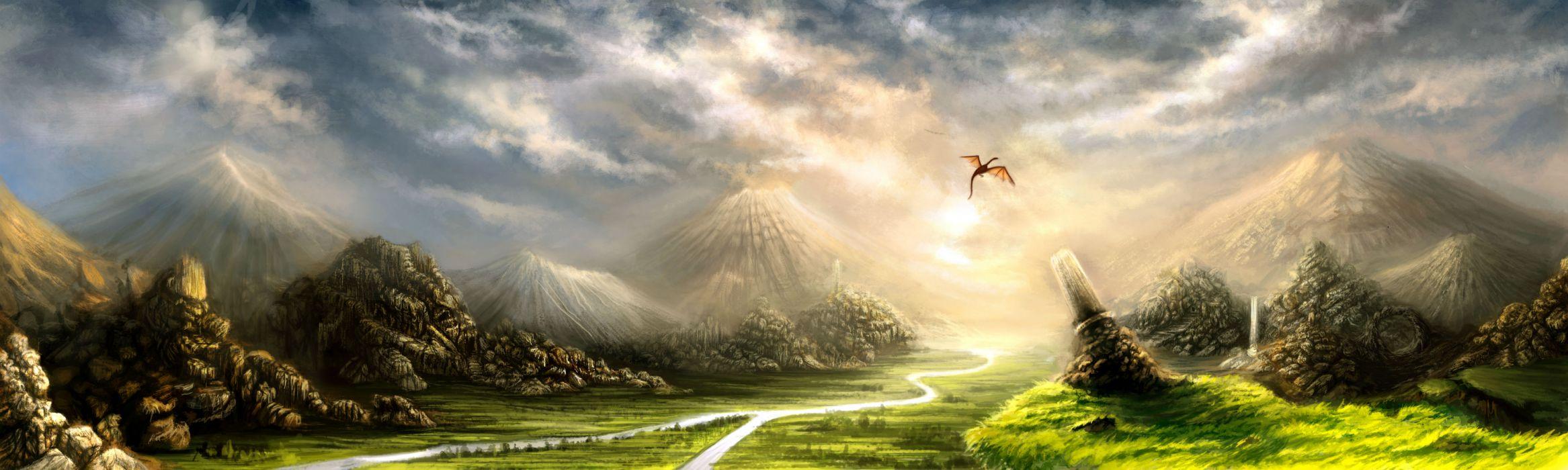dragon magical       gd wallpaper