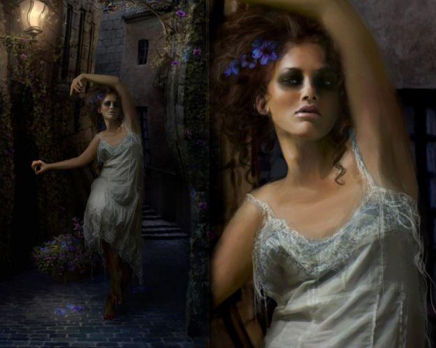 Gothic Fantasy Girls g wallpaper