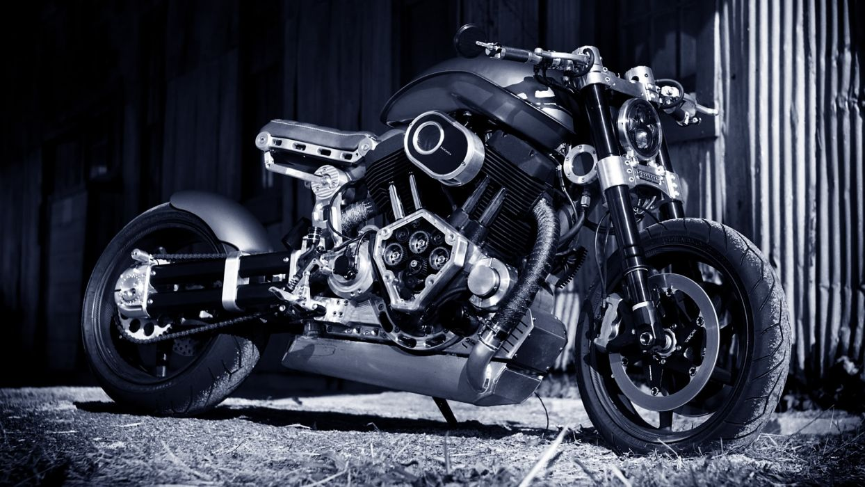 Confederate X132 Hellcat Bike Motorcycle Superbike Custom