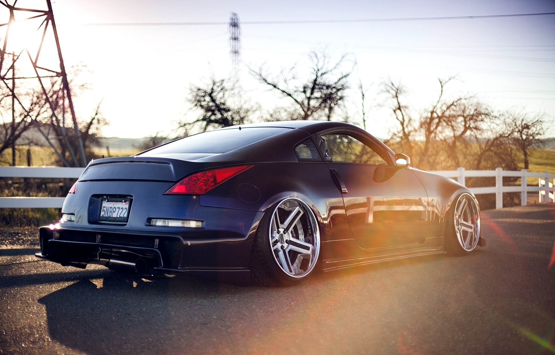 nissan 350z tuning twin turbo stance wallpaper 1920x1230. Black Bedroom Furniture Sets. Home Design Ideas
