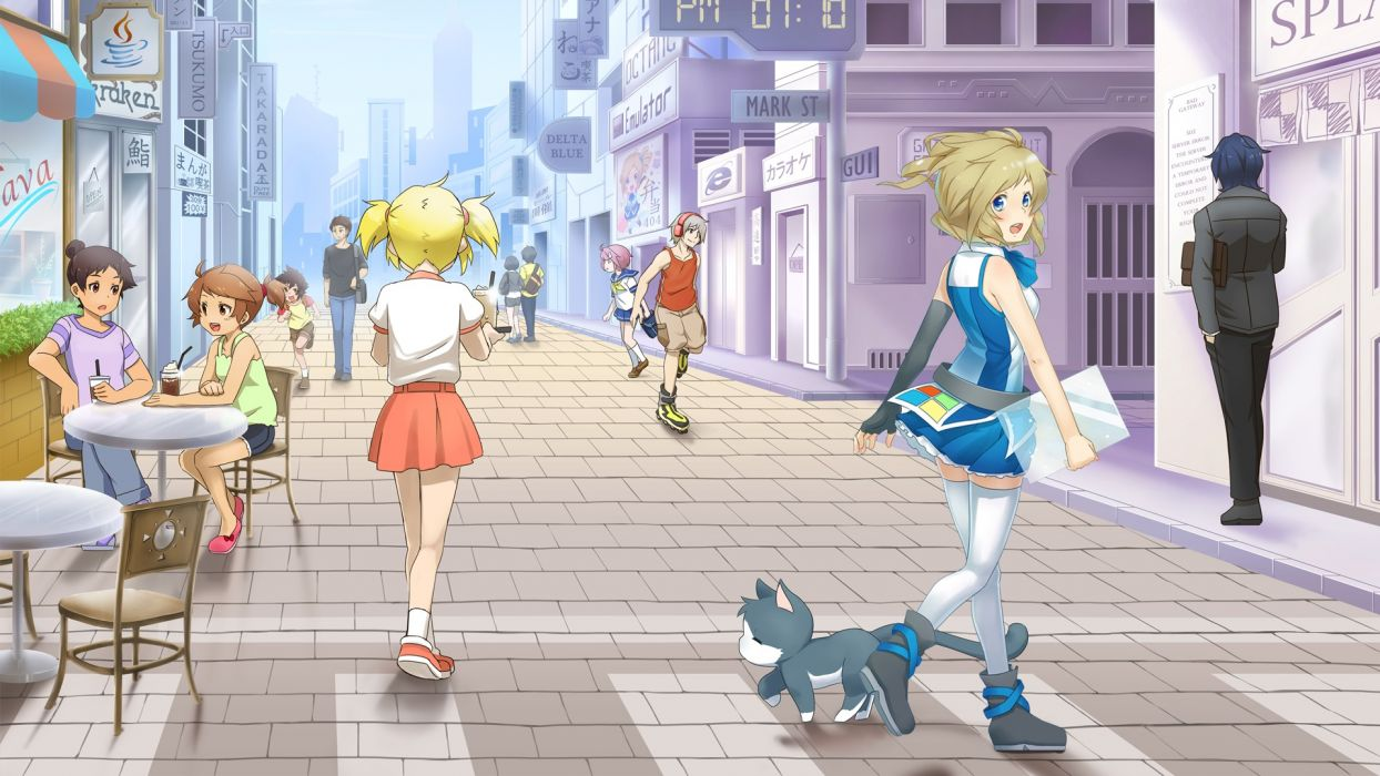 os-tan aizawa inori internet explorer microsoft os-tan waha (artist) wallpaper